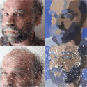 Exploring a Parameterized Portrait Painting Space