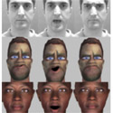 Multi-Space Behavioral Model for Face-based Affective Social Agents
